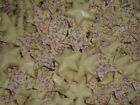 SWEETS WHITE CANDY CHOCOLATE STARS WITH SPRINKLES CHRISTMAS CANDY PICK WEIGHT