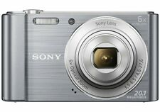 Sony Cyber-shot DSC-W810 20.1 MP Digital Camera - Silver- includes 32 GB SD card