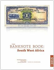 South West Africa chapter from new catalog of world notes, The Banknote Book