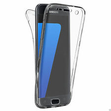 US 360° Full Cover Soft Silicone Rubber Phone Case For Samsung Galaxy S8 S8 Plus