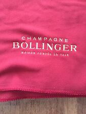 BOLLINGER CHAMPAGNE 100% POLYESTER FLEECE THROW OR PICNIC BLANKET NEW IN DUSTBAG