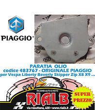 PARATIA OLIO 483767 ORIGINALE PIAGGIO per VESPA GTS 250 2005 2006 2007 2008 2009