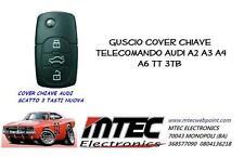k43 guscio cover chiave telecomando audi a2 a3 a4 a6 tt 3tb COMPLETO DI LAMA