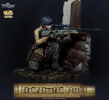 Nutsplanet Sharpshooter Kelly Trigger series Unpainted Fantasy 75mm resin kit