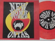 "NEW BOMB TURKS -Good On Ya Baby- 7"" 45 nm colored Vinyl"