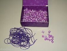 TWEEN TALK Game Replacement Letter Cube Beads Elastic Thread Parts Arts Crafts