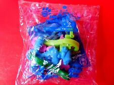 2000 NEW SUBWAY MEAL TOY FRIENDSHIP KEYCHAIN BLUES CLUES NICK JR DOG PUPPY BLUE