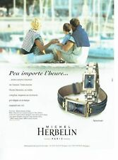 PUBLICITE ADVERTISING 126  1999  montre  Newport  Michel Herbelin 2