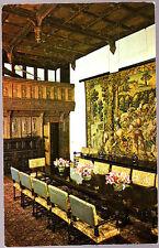 Unused  Postcard Kent, Hever Castle, Dining Hall & Minstrel Gallery