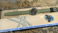SWATCH PUBBLICITARIO SCI CLUB TREVISO 2016 SPECIAL GM184 NEW IN BOX RARE LTD.56