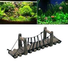 Hot Sale Resin Aquariums Fish Tank Ornaments Drawbridge Bridge Decoration