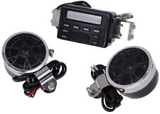 Radio Stereo Amplifier FM for Motorcycle Cruiser Biker Chopper Bobber Cafe Racer