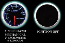 PROSPORT PREMIUM 52MM TACHOMETER BLUE GAUGE 216BFBLTA270 - PS209