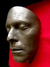 David Bowie Life Cast Life Mask Bronze Resin The Hunger Life Cast