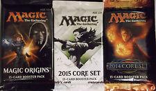 MAGIC ORIGINS M16 CORE 2015 M15 CORE 2014 M14 BOOSTER BOX LOT 12 PACKS EACH