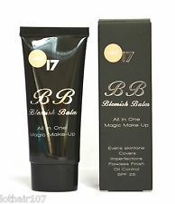 Boots 17 BB Blemish Balm All In One Magic Make-Up. SPF25 Light BNIB