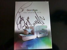 ★★ JLS HAND SIGNED GOODBYE GREATEST HITS SUPERDELUXE + PROOF+ 2010 PHOTOS CD ★★
