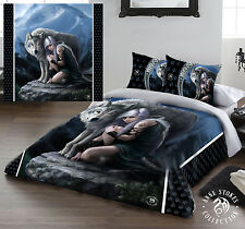 PROTECTOR Duvet Cover Bed Linen Set Kingsize Bed Artwork by artist ANNE STOKES