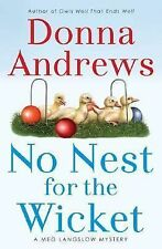 No Nest for the Wicket 7 by Donna Andrews (2006, BCE, Hardcover) Cozy Mystery