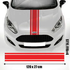 Ford  Bonnet  Racing Stripes Decal Graphics /Tuning Car Size 120X27 Cm #FFB4