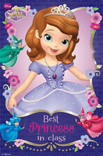 DISNEY SOFIA THE FIRST BEST PRINCESS IN CLASS 22X34 POSTER PRINT NEW FREE SHIP