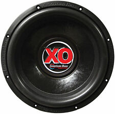 "American Bass XO1244 Subwoofer 12"" American Bass 60 Oz.magnet Dual 4 Ohm"