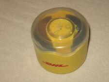 Original DHL stylische Trend-Armbanduhr mit DHL-Logo NEU/OVP in Deko-Box