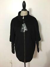Women's CINZIA ROCCA Two Piece Wool Down Coat Style # 6N4670ZN, Black
