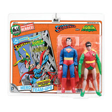 DC Comics Mego Style 8 Inch Retro Figure Two-Pack: Superman & Robin