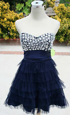 NWT WINDSOR $100 NAVY Juniors Dance Prom Party Dress 7