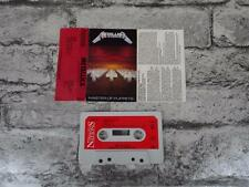 METALLICA-Master Of Puppets/Cassette Album Tape/Music For Nations PLable/ 2660