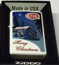 W.R. Case & Sons Limited Zippo 2015 Christmas Holiday Snow Theme Lighter 50197