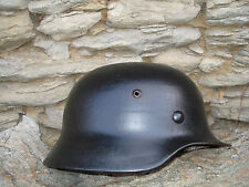 HELMET M 35/EF 64  GERMAN WW2 ORIGINAL+ original liner band