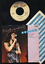 Donna Summer - Dim All the Lights - There Will Always Be a You - JAPAN