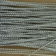 100M Silver Card Craft Gift Cord String Ribbon Approx 1mm Gift Tag Thread Decor