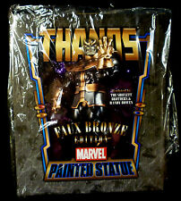 Bowen Designs Marvel Comics Faux Bronze Thanos Statue New From 2012