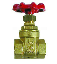 "Brass 1/2"" BSP Female Thread Quality Heavy Duty Gate Valve."