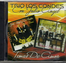 TRIO LOS CONDES CON JULIO ANGEL - CD / TEMAS DE AMOR