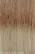 "AMERICAN DREAM QUICK FIX CLIP 12""WEFT HAIR EXTENSIONS 10-22 MEDIUM ASH BROWN/B"