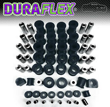 Mazda MX5 Eunos Miata Front & Rear Suspension & Chassis Bush Set - Black PU