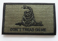 Don't Tread On Me Tactical Morale 3 X 2 inch Multitan   PATCH NEW SJK   324