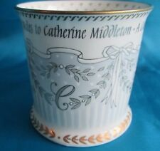 Official Marriage Coffee Tea Mug William Prince of Whales to Catherine Middleton