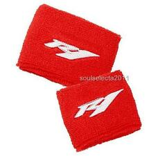 YAMAHA R1 BRAKE RESERVOIR COVER OIL CUP COVER GP SOCK SET YZF 1000 RED/WHITE