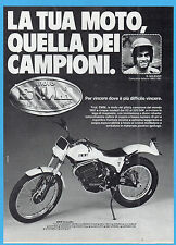 MOTOSPRINT982-PUBBLICITA'/ADVERTISING-1982- SWM TRIAL - testimonial D. GALEAZZI
