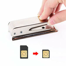 Standard Regular Micro SIM Card to Nano SIM Cut Cutter For Apple5 iPhone5 5G NEW