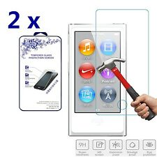 2x For Apple iPod Nano 7 7th Generation Premium Tempered Glass Screen Protector