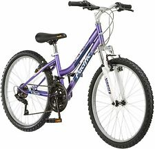 Pacific Evolution 24 Inch Girl's Mountain Bike Pink Linear Pull Brakes 18 speeds
