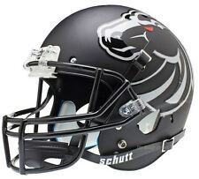 BOISE STATE BRONCOS BLACK SCHUTT XP FULL SIZE REPLICA FOOTBALL HELMET