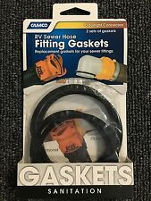 Camco 39834 RV CAMPER BOAT SewerHose Fitting Gaskets 4 PackFAST FIRST CLASS SHIP