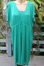 Katies Size XL-18 Emerald Green Dress NEW rrp $49.95 Cold Shoulder Slits Style